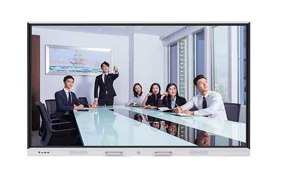 hushida h2 series 55inch 4k touch screen interactive whiteboard dual system